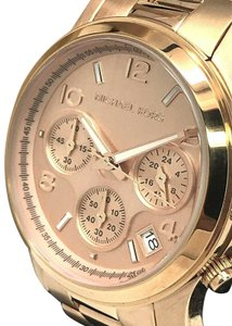 00fa9bc4cd1c Michael Kors Michael Kors MK5128 Runway Rose Gold Tone Stainless Steel  Womens Watch