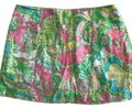 Lilly Pulitzer Mini Skirt pink and green