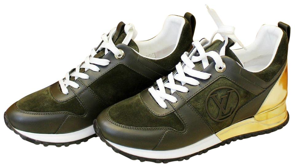 31386164f56 Louis Vuitton Run Away Suede Leather Sneakers Formal Shoes Size EU 37  (Approx. US 7) Narrow (Aa, N)