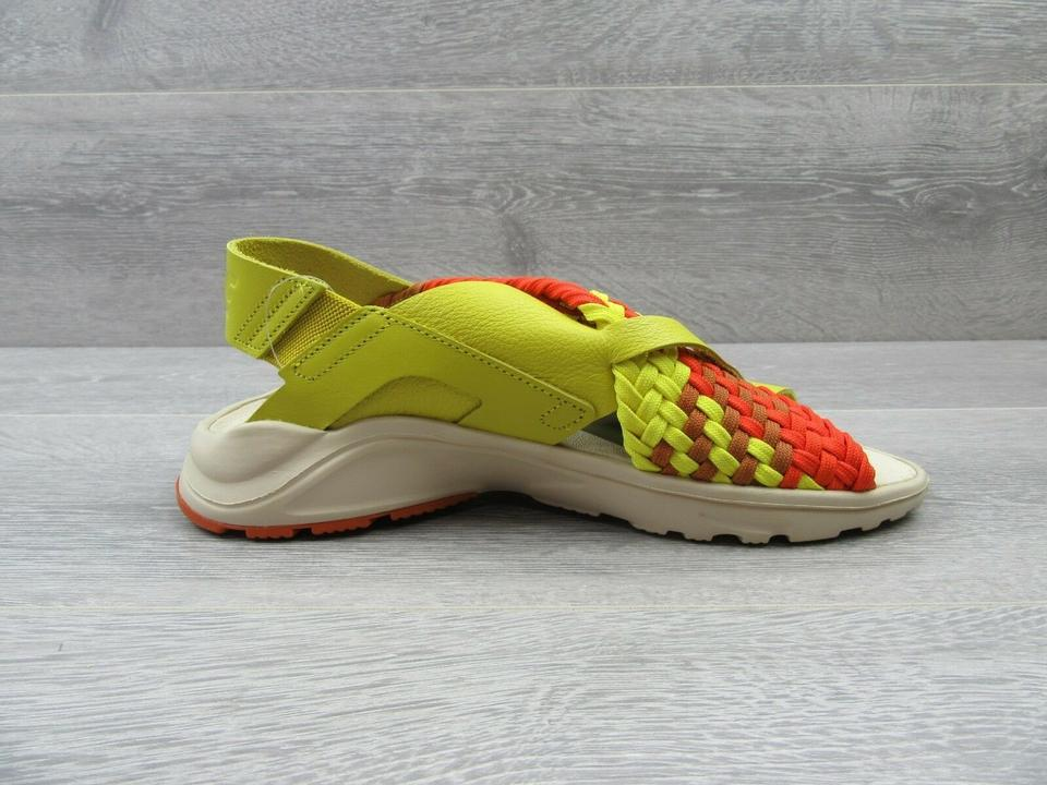 7950babbeb9d Nike Yellow Orange Air Huarache Ultra Sandals Pumps Size US 8 ...