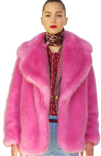 Item - Pink Collection Faux Coat Size 4 (S)