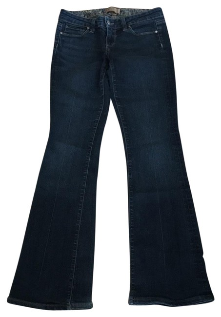 Item - Blue Dark Rinse Canyon Boot Cut Jeans Size 2 (XS, 26)