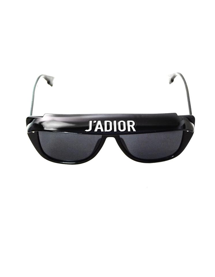 6c99ea72d0 Dior Black Diorclub2 J adior Visor with Case Sunglasses - Tradesy