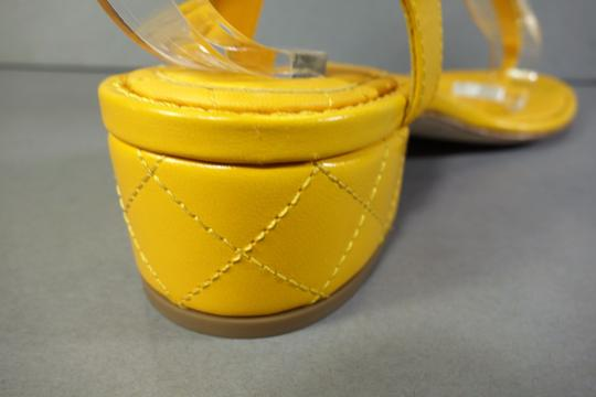 Chanel Yellow Sandals Image 6