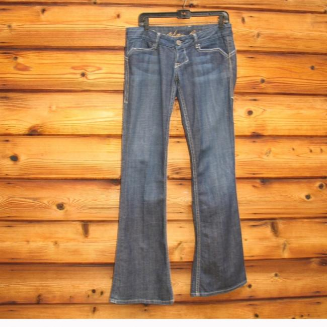 William Rast Flare Leg Jeans-Dark Rinse Image 1