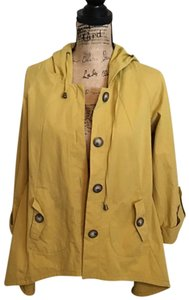 For Cynthia Mustard Jacket