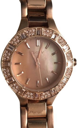 Preload https://img-static.tradesy.com/item/24767797/dkny-rose-gold-ladies-chambers-watch-0-3-540-540.jpg