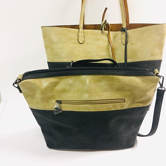 Sydney Love Tote in tan/charcoal Image 2