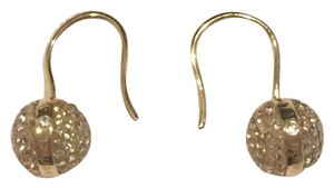 Henri Bendel Henri Bendel Rocks Drop Golden Show Pierced Earrings
