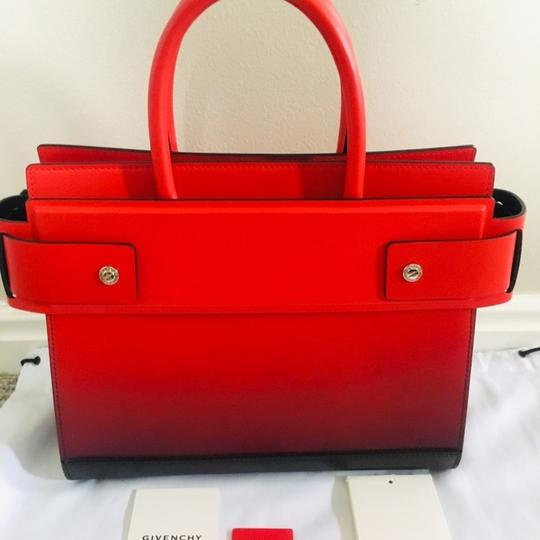 Givenchy Degrade Tote in Black/Red Image 7