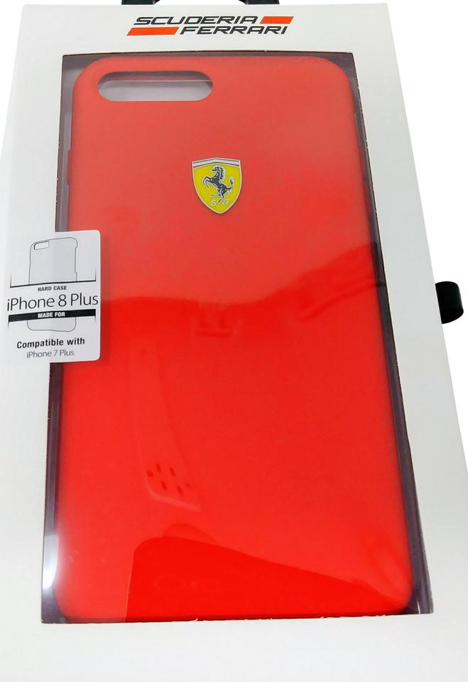 Ferrari Red Iphone 8 Plus Hard Case Cover Tech Accessory - Tradesy 73ae2978da415