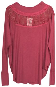 Free People Top Cochineal