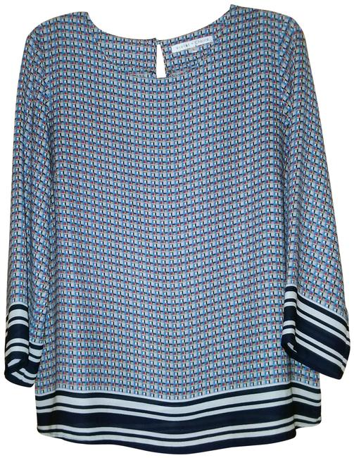 Preload https://img-static.tradesy.com/item/24768090/violet-and-claire-bluemulti-bluewhitered-ladies-blouse-size-14-l-0-1-650-650.jpg