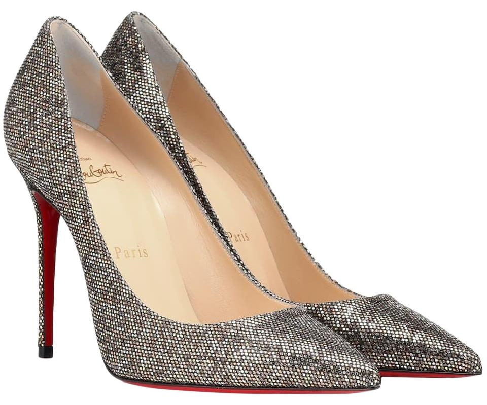 181848adf4 Christian Louboutin Gold Silver Bronze Multicolor Pumps Image 0 ...