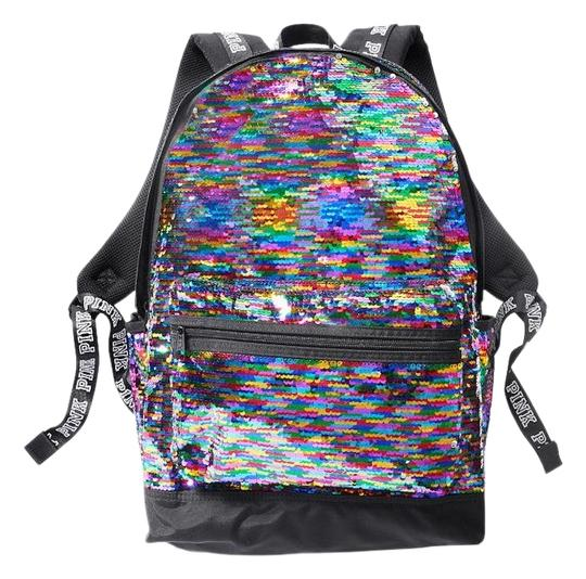 Preload https://img-static.tradesy.com/item/24768506/victoria-s-secret-new-pink-sparkle-colorful-bling-laptop-multicolor-sequin-backpack-0-5-540-540.jpg