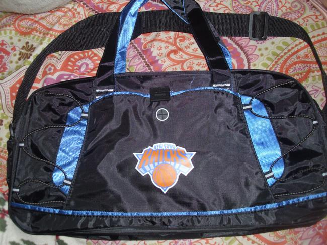 New York Knicks knicks Gym Bag duffle bag workout gear exercise fitness tote bag Image 3