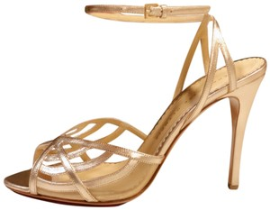 Charlotte Olympia Gold Pumps