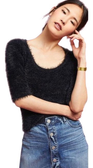 Preload https://img-static.tradesy.com/item/24768836/anthropologie-knitted-and-knotted-faux-black-sweater-0-21-650-650.jpg