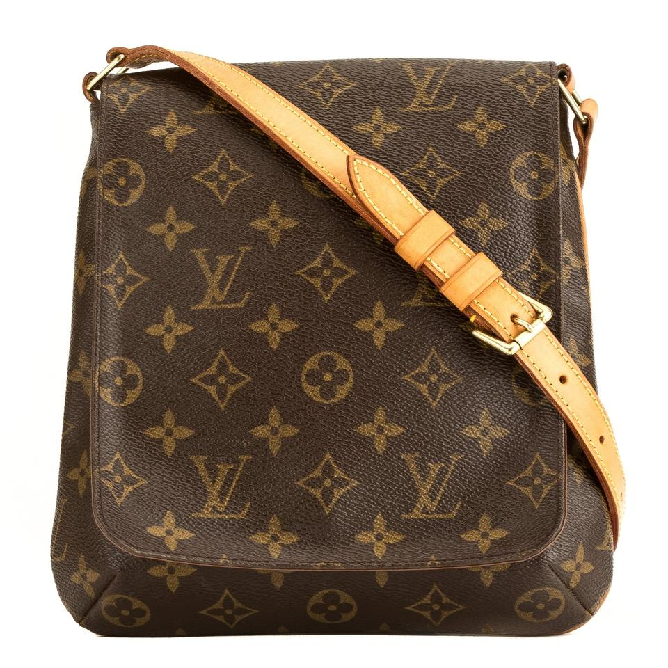 675236ab0448 Louis Vuitton Musette Salsa Short Strap 4016015 Brown Monogram ...