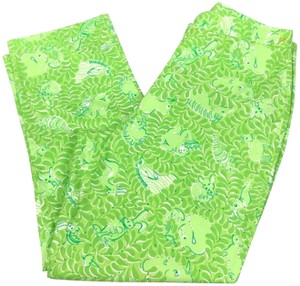 Lilly Pulitzer Capri/Cropped Pants Green