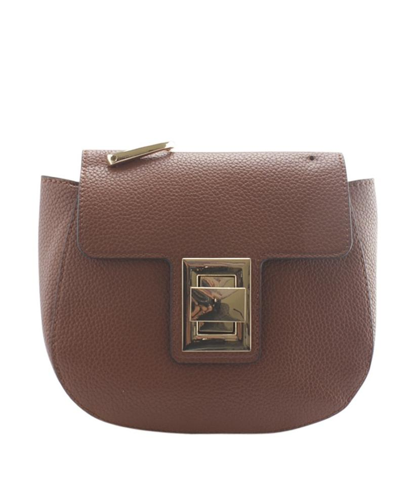 8d2945f938 Steve Madden Kaia Chain Small (164104) Brown Leather Shoulder Bag ...