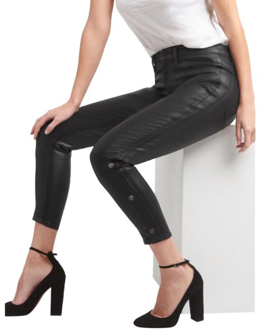 Item - Black Favorite High Stretch Inner Cozy Jeggings In Coated Pants Size 0 (XS, 25)