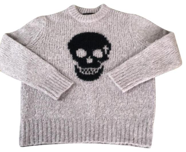 360 Sweater Skull Cashmere Lilac Gray Sweater 360 Sweater Skull Cashmere Lilac Gray Sweater Image 1