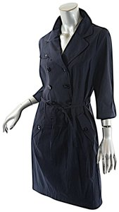 Bogner short dress Navy Sonia Colombo Light Weight Double Breasted Belted on Tradesy