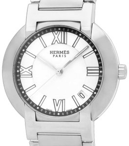 Hermès Hermes Nomade Mens Unisex Automatic Quartz Watch - Stainless Steel