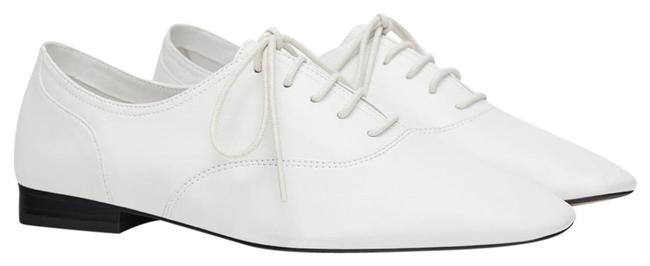 Item - White New Sheep Leather Oxfords Join Life Flats Size US 10 Regular (M, B)