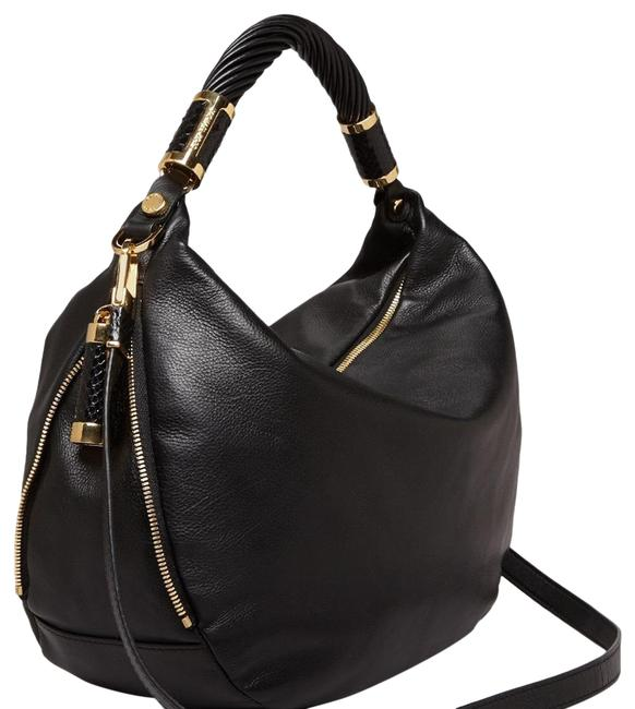 Item - Tonne Slouchy Black Leather Hobo Bag