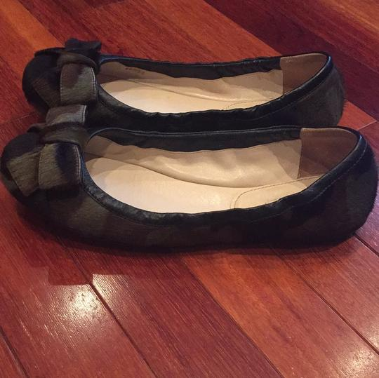 Prada camouflage black and green Flats Image 4