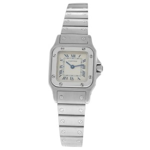 Cartier Ladies Cartier Santos Galbee 1565 Stainless Steel 24MM Quartz