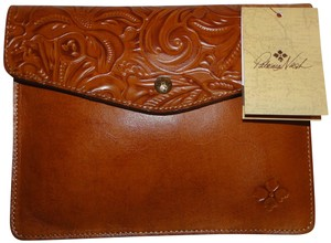 Patricia Nash Designs Burnished Tooled Midi Envelope Pouch