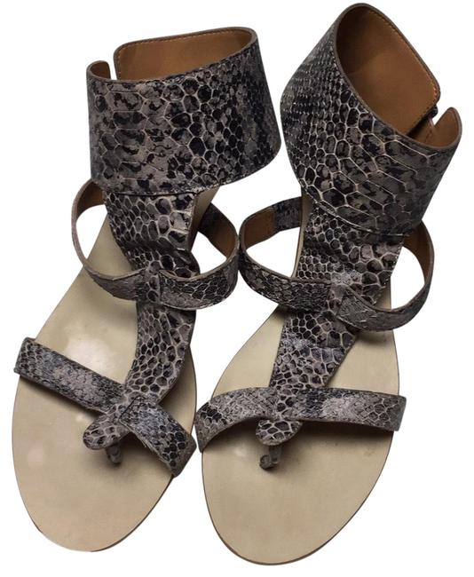Item - Taupe/Black 00000 Sandals Size US 7.5 Regular (M, B)