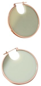 Anthropologie Solar Eclipse Hoop Earrings by Studio Elke