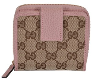 Gucci NEW Gucci 346056 GG Guccissima French Zip Wallet