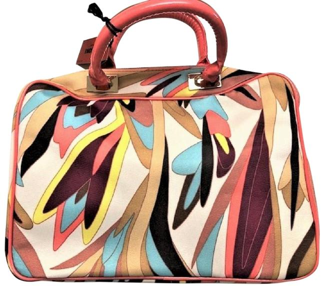 """Item - """"Colore"""" Coral Polyester Weekend/Travel Bag"""