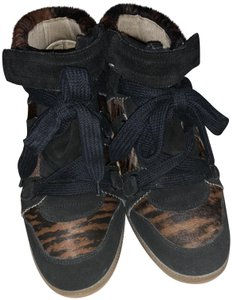 Isabel Marant Black and Brown Athletic