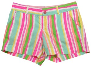 Lilly Pulitzer Dress Shorts GREENS AND PINKS YELLOWS NEON