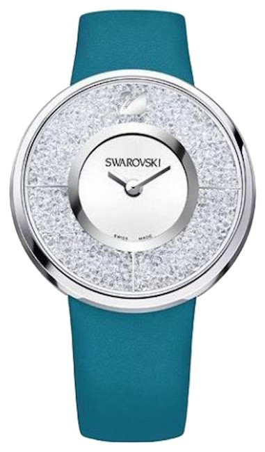 Item - Silver New Womens (5186452) Crystalline Dial Leather Watch