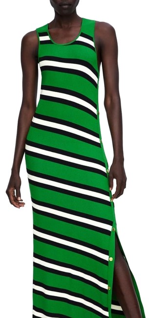 Item - Striped Long Casual Maxi Dress Size 6 (S)