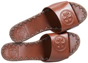 Tory Burch perfect cuoio Platforms