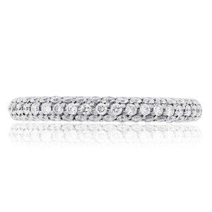 De Beers De Beers 18k White Gold 1.38Ct DB Darling Pavé Eternity Band Ring