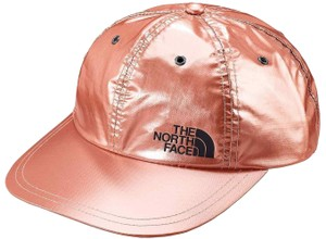 Supreme BRAND NEW MEN'S SUPREME X THE NORTH FACE METALLIC 6 PANEL ROSE GOLD SS