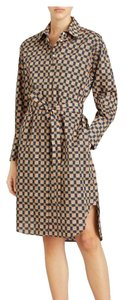 Burberry Burberry Check Button-Front Shirt Dress - item med img