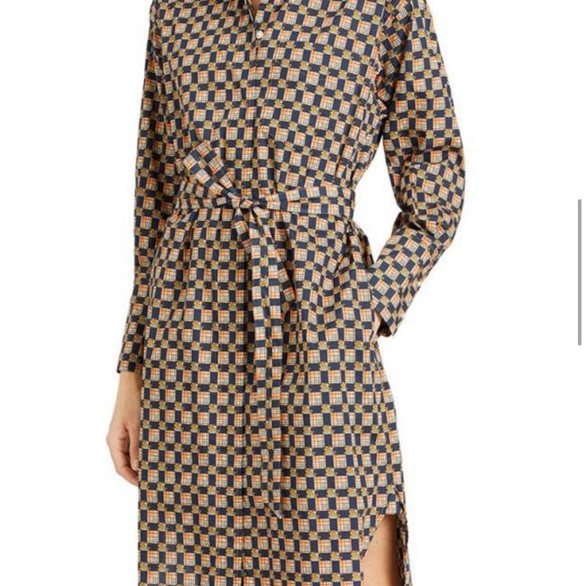 Burberry Burberry Check Button-Front Shirt Dress Image 5