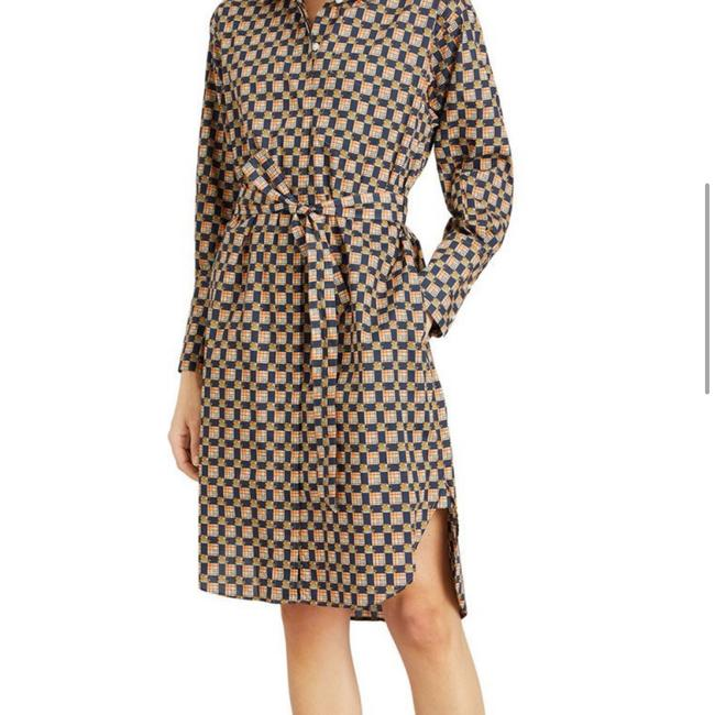Burberry Burberry Check Button-Front Shirt Dress Image 6