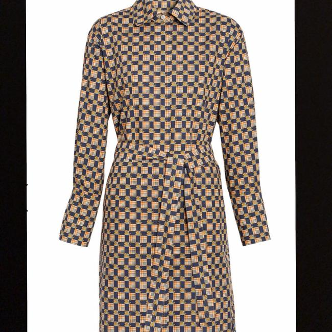Burberry Burberry Check Button-Front Shirt Dress Image 7