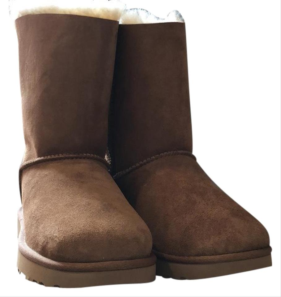 4758c26ef7a UGG Australia Chestnut Bailey Bow Ii Boots/Booties Size US 8 Regular (M, B)  43% off retail
